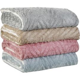 Cobertor Casal Sherpa 3D - Casa & Conforto