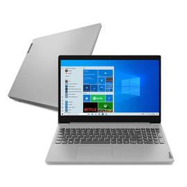 "Notebook Lenovo Ultrafino Ideapad 3i Intel Core I5-10210u 8gb 256gb Ssd W10 15.6"" Prata"