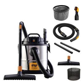 Aspirador de Pó e Água Inox Wap GTW Inox 12 1400W - 110V