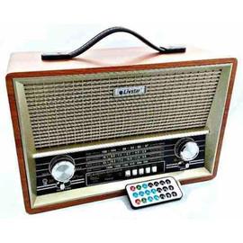 Rádio Edição Retrô Livstar Portátil Bluetooth Usb B2068