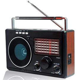 Rádio AM/FM/SW1-9 Com 11 Bandas Entrada Pendrive Cartão de Memória LE-609 - Lelong