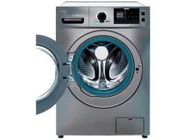 Lavadora de Roupas Midea Storm Wash LFA11X1 - Inverter 11kg Cesto Inox 16 Programas de Lavagem