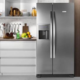 Refrigerador Side by Side SS72X 504L Titanium 110V - Electrolux