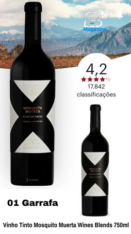 Vinho Tinto Mosquita Muerta Wines Blends 750ml