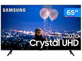 "TV Samsung 65"" Crystal UHD 65TU8000 4K, Wi-fi, Bluetooth 4.2 Borda Infinita, Alexa, Controle Único"