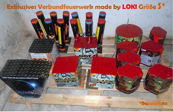 Exklusives Verbundfeuerwerk made by LOKI Größe S