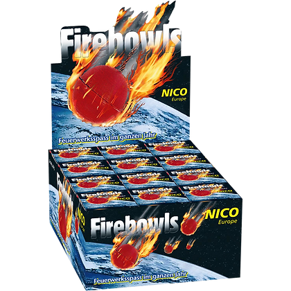 Firebowls, Display 36x4 Stück