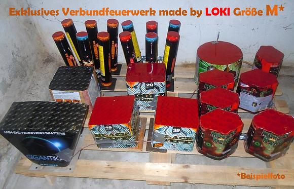 Exklusives Verbundfeuerwerk made by LOKI Größe M