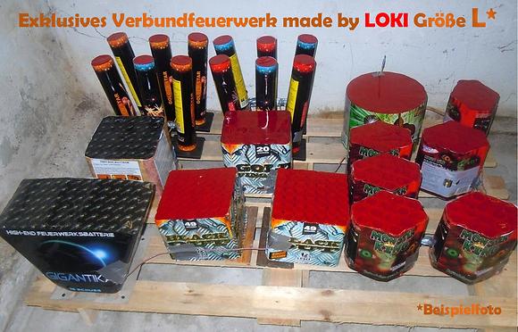Exklusives Verbundfeuerwerk made by LOKI Größe L