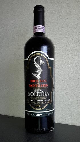 Soldera Case Basse Brunello di Montalcino Riserva 1997