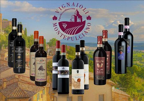 [ENG]Special Box Vino Nobile 'Vignaioli di Montepulciano' 12 bts
