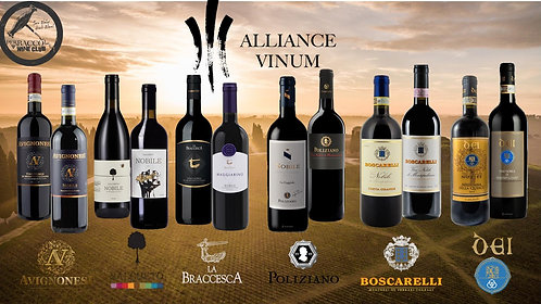 Alliance Vinum Crus 2016 + Nobile 2017, 12bts