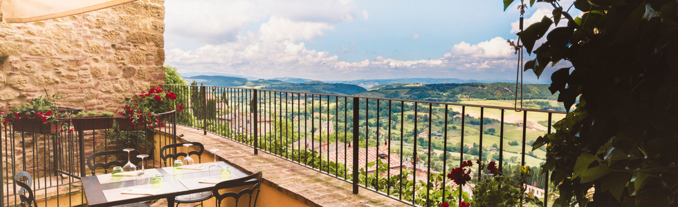 San Biagio from our terrace