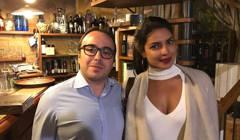 Prianka Chopra con Giacomo