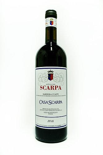 "Scarpa Barbera D'Asti ""Casa Scarpa""  2015"
