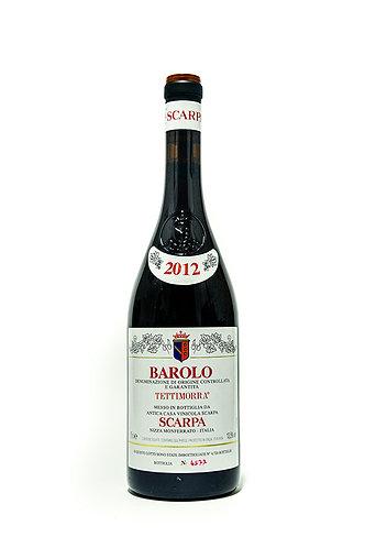 Scarpa Barolo Tettimorra DOCG  2013