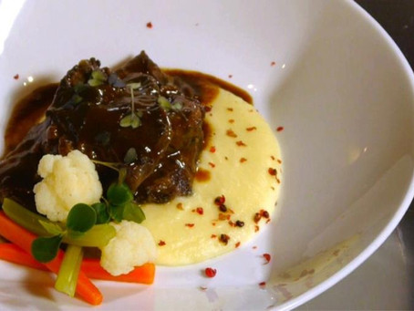 'Stracotto' of veal cheek brased with Vino Nobile di Montepulciano