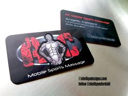 Custom die cut cards