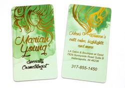 Salon business cards