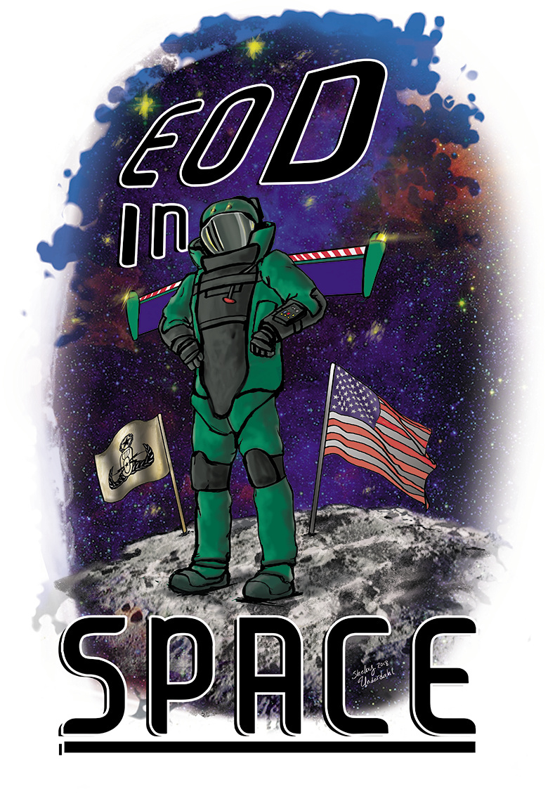 EOD IN SPACE- Shelby Underdahl