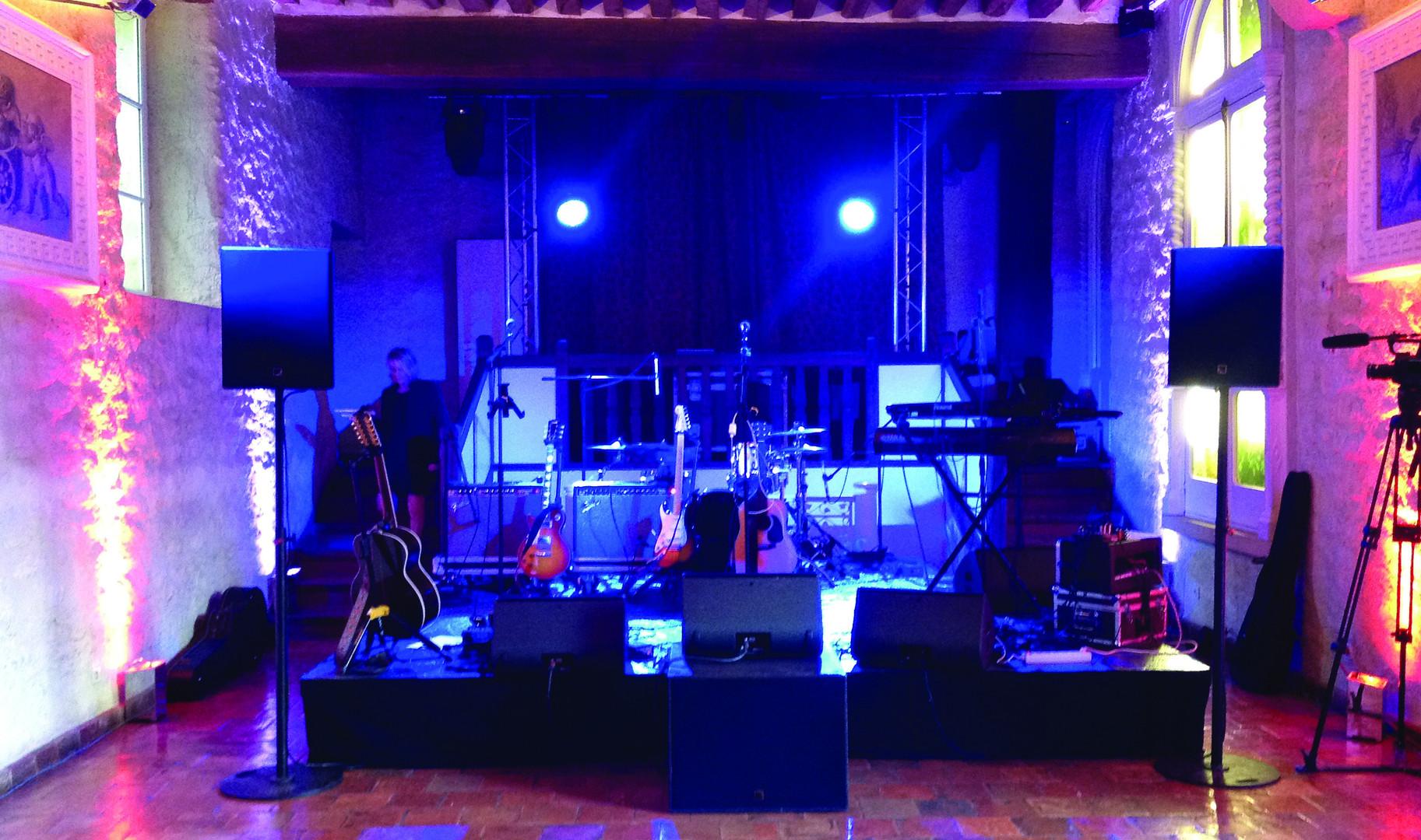 Concert dans l'Orangerie