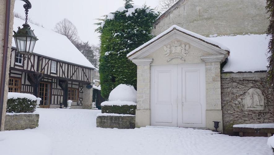 La Cathédrale sous la neige