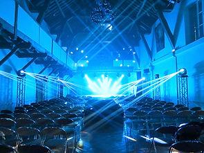 Jeux de lumières dans le salon de la Cathédrale