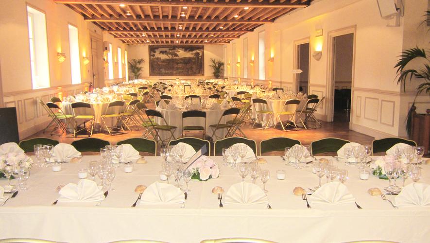 Table d'honneur et Salon Ouest