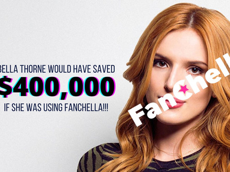 Bella Thorne Would Save $400,000 With Fanchella