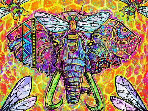 Elephant & Bees