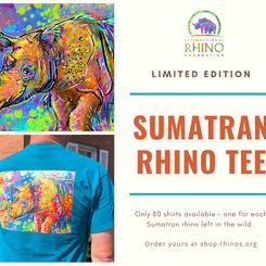 RHI Sumatran Rhino Charity Tee
