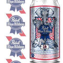 """Pabst Blue Ribbon """"Conservation Can"""""""