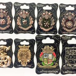 Society of Explorers & Adventurers pin set