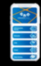 Celular com o aplicativo Circuito Caixa Nacional aberto na tela inicial.