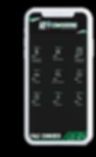 Celular com o aplicativo Hi Coworking aberto na tela inicial.