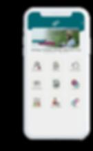 Celular com o aplicativo Dalava Skills aberto na tela inicial.
