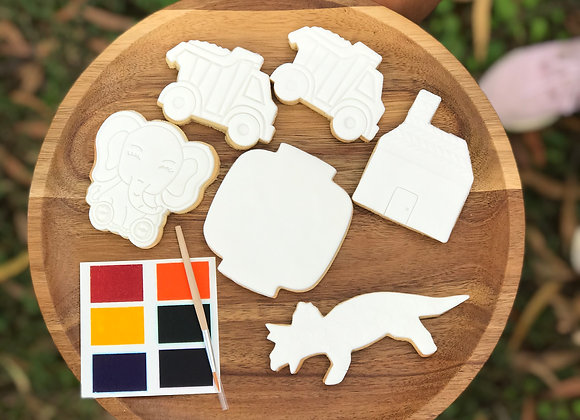 Paint Your Own Cookies Box
