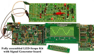 Basic and Advanced Electronics Course Curriculum together: LED Scope Part 1 & 2