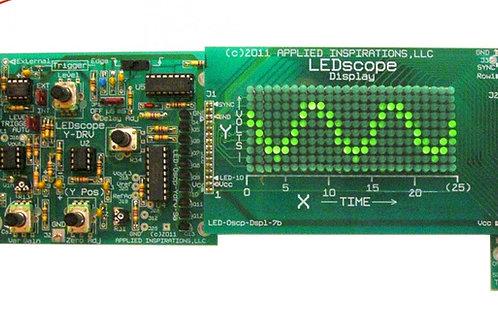Advanced Electronics Course: LED Scope Part 2: LED Array Oscilloscope