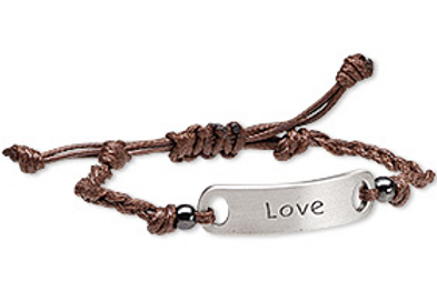 Brown Rope Love Bracelet