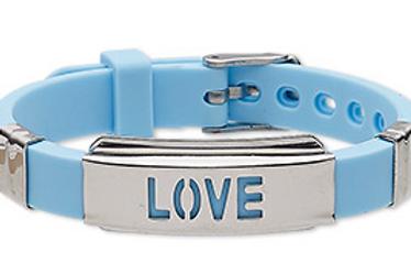 Love Bracelets (Baby Blue)