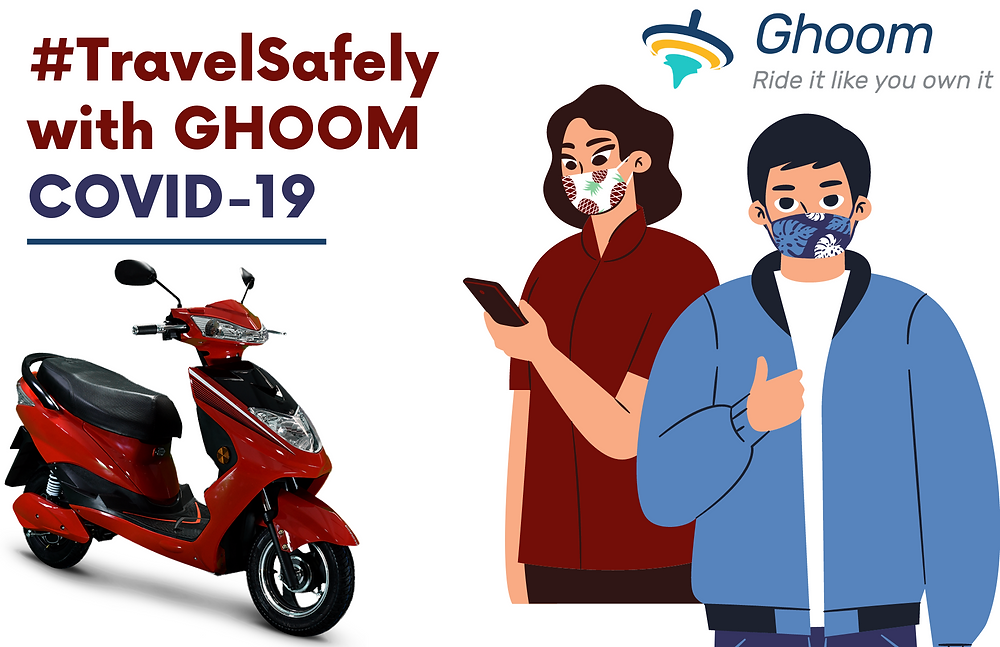 travel safely with Ghoom during covid-19