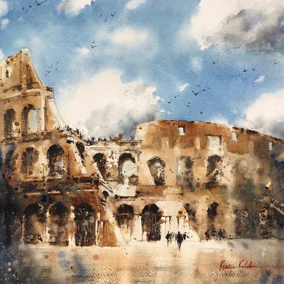 Colosseum in Neutrals