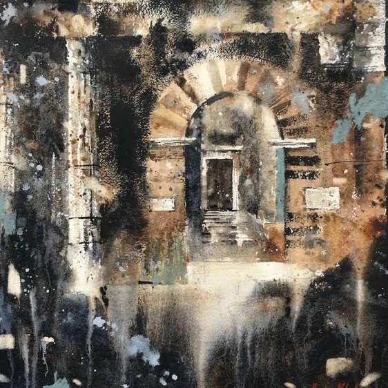 Portico D'Ottavia - La Notte