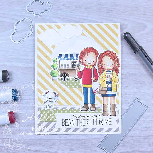 Friends at First Sip Card Kit