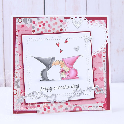 Smoochie Gnomes Card Kit