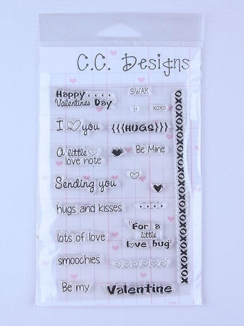 CC Designs - Smoochie Sentiment Set