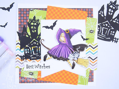 Hattie Loves Halloween Card Kit
