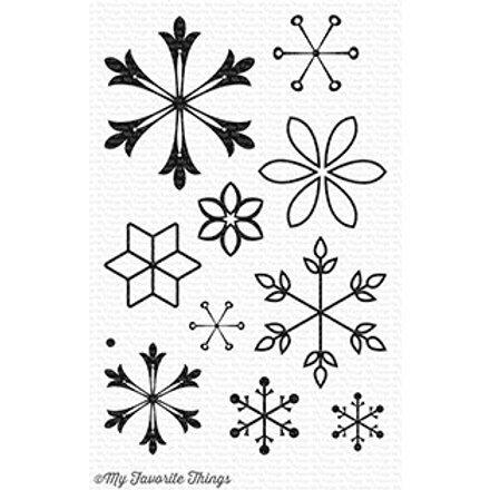 Snowflake Slendor Stamp & Die Set