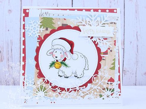 Fleece Navidad Card Kit